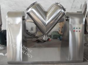China Powder / Granule V Shape Blender High Mixing Precision 1 . 5 - 37kw on sale