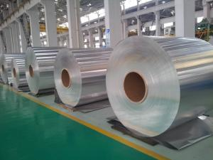 China Mill Finish Aluminum Coil For Fin Stock  AA8011/3102-H18 on sale