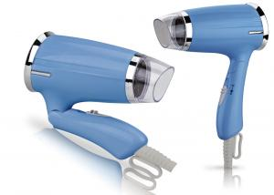 China Mini Anti - Static Ionic Travel Hair Dryer White Color Two Speed Heat Setting on sale