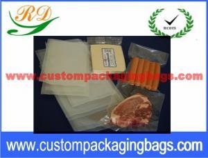 Quality La fermeture sous-vide matérielle transparente de NY/PE met en sac avec le joint chaud for sale
