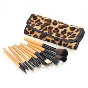 China Authentic Professional Bamboo Eyeshadow Brush Set Private Label on sale