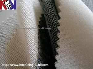China Heavy brushed tricot fusible intefacing online manufacturer factory supplier on sale