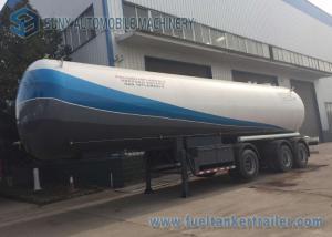 China LPG Storage Tanks  24T BPW Tri-axle 10 wheels Q345R 56000 Liters on sale