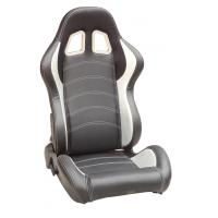 Full Reclinable Sport Racing Seats Black / Red / Blue / Yellow / Gray Color