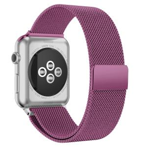 China Apple Smartwatch Band , Stainless Steel Magnetic Mesh Smart Watch Wristband on sale
