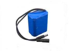 China Customized 18650 3S3P 6600mah Cylindrical Lithium ion Cell Battery Pack 11.1V on sale