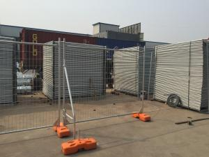 Quality Temporary Fencing Panels 2100mm x 2400mm with brace as well clamp meet NZ and AU standard for sale