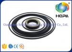 PC120-6 Oil Seal Kits Oil Resistance For Hydraulic Seal Parts , Black Color