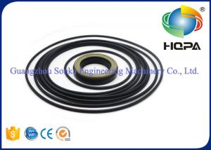 China PC120-6 Oil Seal Kits Oil Resistance For Hydraulic Seal Parts , Black Color on sale