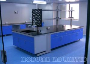 China Chemical Cabinet Lab Bench Cabinets Lab Workbench Laboratory Furniture For Schools on sale