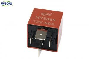 China Non Waterproof 12V/24V Automotive Power Relay High Sensitive Copper Wire on sale
