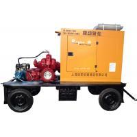 Flood prevent diesel irrigation water pump agriculture with weatherproof enclosure