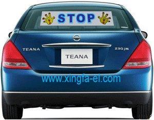 China EL Flashing Car Sticker on sale