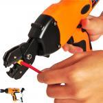 Ferramenta de friso automática do frisador Handheld a pilhas bonde do fio do cabo