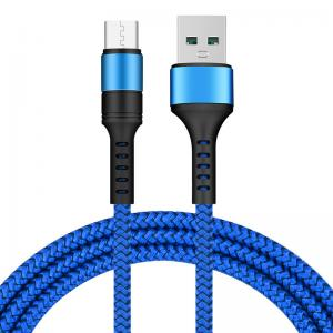 China USB 3.1 Type C Nylon Charging Cable Multi Colored For Android Mobile Phones on sale