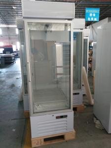 China Auto Defrost Upright Glass Door Freezer , Single Glass Door Merchandiser Refrigerator on sale