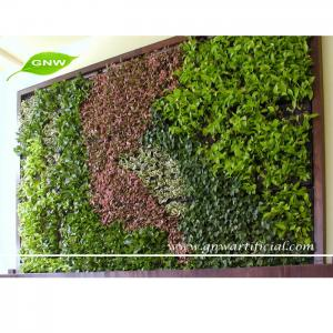 China GNW GLW039 Vertical Wall Garden Planter Home Decoration Artificial Plant on sale