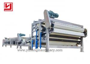 China Polyester Spiral Belt 3T/H 4T/H Stainless Steel Filter Press on sale