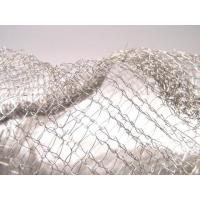 Noise Reduction Knitted Stainless Steel Filter Mesh Crochet Weaving For Gas / Liquid