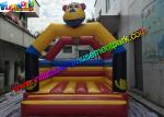 Customized Tiger Kids Inflatable Jumper Commercial Bounce Houses For Childrens