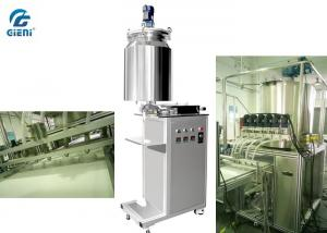China Six Nozzles Vaseline Filling Machine With Gear Pump , 460*770*1660mm Size on sale