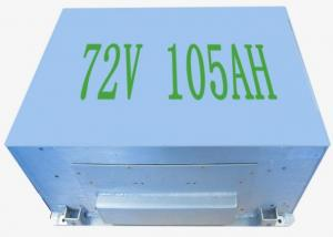 China EV battery 76V 105AH Lifepo4 Rechargeable Battery on sale