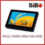 Pared 7 aumentable panel táctil de Android del tamaño de pantalla con el sensor de temperatura del POE