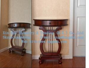 China Wood entrance cabinet, wood Console Tables, wooden telephone table on sale