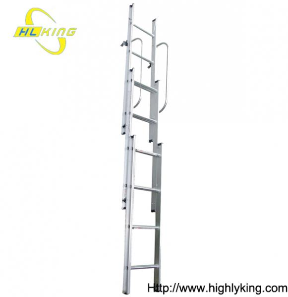 Attractive Aluminium Sliding Loft Ladder/aluminum Sliding Attic Stairs(HL 203)