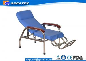 China Reclining Stainless Steel Medical Dialysis Chair / Blood Donor Chair on sale
