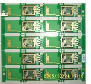 China High Thick Copper PCB Board, Immersion Gold Four Layer PCB, Printed Circuits Board supplier