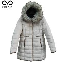 China 100% Polyester Ladies Light Padded Jacket / Soft Women Reversible Parka on sale