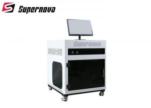 China Air Cooling 3D Laser Engraving Equipment , 3D Laser Glass Etching Machine 3 Watt on sale