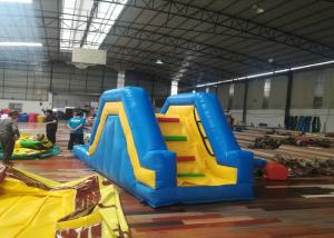 China 0.55mm Kids Inflatable Bouncer Blow Up Water Slide Small Volume 5.1*1.5*2.1M on sale