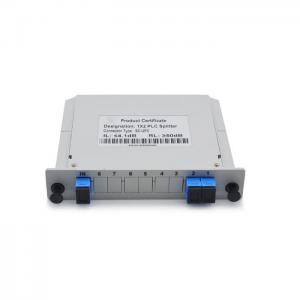 China 1 * 2 Slot Box Fiber Optic Splitter , Rack Mounted Optical Beam Splitter For HTTP on sale
