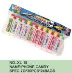 Caloria 7 G dos doces do pó do açúcar do telefone da melancia a mais baixa * 30 PCes * 24 sacos
