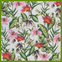 Colorful flower design printed tablecloth made of 100% polyester table decration cloth