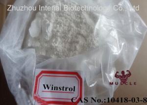 China Stanozolol / Winstrol / Winny Powder Cutting Cycle Steroid CAS 10418-03-8 on sale