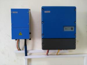China 22kW 3 Phase Solar Energy Inverter , Mppt Solar Inverter Dc To Ac 3 Years Warranty on sale