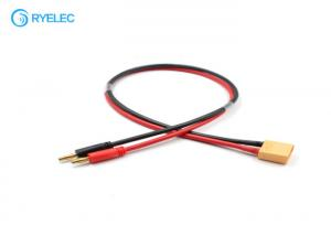 China Battery Charging Cable Custom Wire Harness 4.0mm Banana To XT90 Male Female Plug on sale