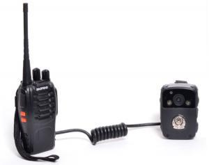 China IP65 32GB Body Worn Video Camera Portable Surveillance Camera Auto Digital Zoom on sale