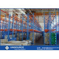 Durable Multilayer Warehouse Racking High Strength Anti - Rust For Beverage Storage