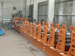 China 機械、反錆のローラーが付いている機械を作るPLCシステム サイロを形作る波形ロール on sale