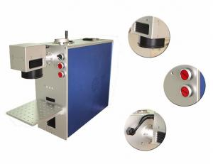 China Medical Instrument Industrial Laser Marking Machine Blue With CE Certificate on sale