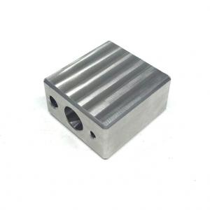 China CNC Stainless Steel Machining Services Block Metal Parts Services NA Surface Treatment on sale