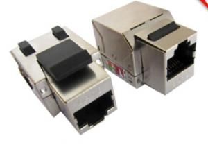 China TP/FTP Pass Fluke Test Cat5e / Cat6a / Rj45 Cat6 Connector Ethernet Jack on sale