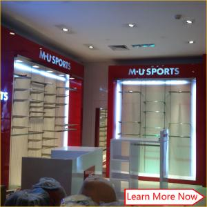 China Custom Design Cheap Display Showcase Furniture For Clothing Store Decoration on sale