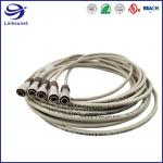 Telecommunications Wire Harness with LF Zinc Alloy Bayonet Lock PPS Connectors