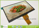 Option Bonding Capacitive Touch Screen Lcd Panel 7''  40 Pin LVDS Interface