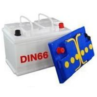White DIN66 66 AH Starting Car Battery, 275*175*190mm Sealed Car Battery For Europe Car / Auto